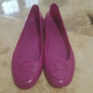 Tory Burch jelly shoes 6